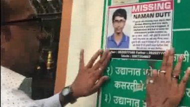 BARC Scientist's Son Naman Dutt, Who Went Missing 12 Days Ago From Vashi, Found Dead