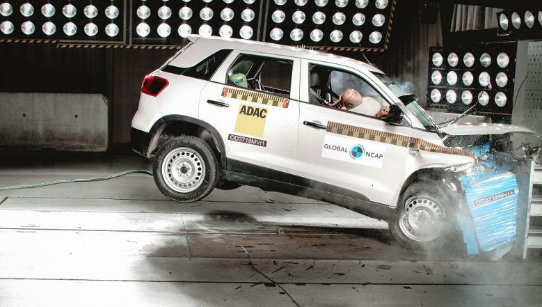 Maruti Suzuki Vitara Brezza Secures 4 Star Rating at Global NCAP Crash Test