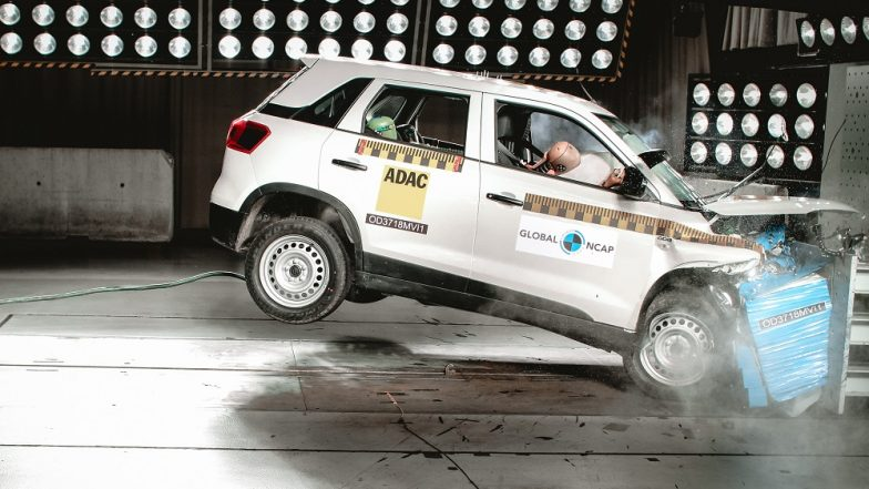 Maruti Suzuki Vitara Brezza Secures 4 Star Rating at Global NCAP Crash Test