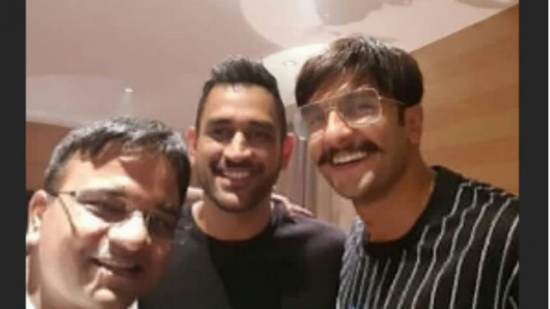 Is That MS Dhoni With Ranveer Singh on the Sets of Simmba? - See Pic