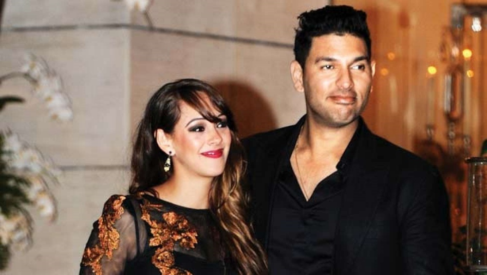Yuvraj Singh Shares Picture With Wife Hazel Keech on Wedding Anniversary (See Pics)