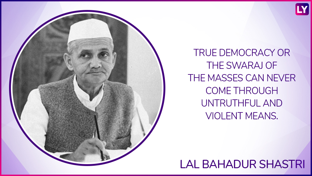 Image result for quotes of lal bahadur shastri