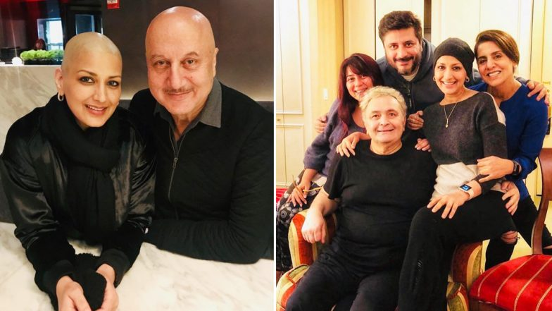 Sonali Bendre's Pictures Bonding With Rishi Kapoor and Anupam Kher Will Make You Happy!
