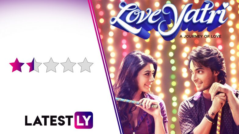 LoveYatri Movie Review: Even Garba Feels Boring in Aayush Sharma and Warina Hussain's Insufferable Debut Produced by Salman Khan