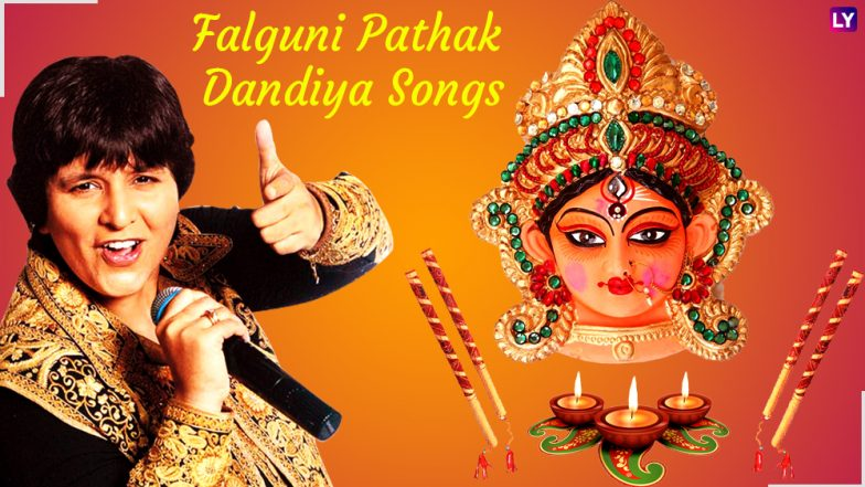 Falguni Pathak Dandiya Songs: Dance to the Tracks of Garba Queen during Navaratri 2018 Festival!