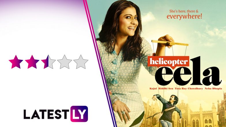 Helicopter Eela Movie Review: Kajol and Riddhi Sen's Feel-Good Drama Suffers From A Bumpy Narrative!
