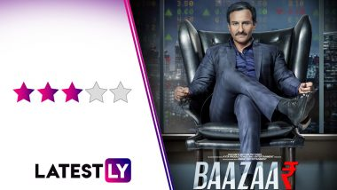 Baazaar Movie Review: Invest Your Time and Money in Saif Ali Khan and the Entertainment Returns Will Be Guaranteed