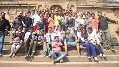 Amidst Controversies Kangana Ranaut's Manikarnika Wraps Up! View Pic
