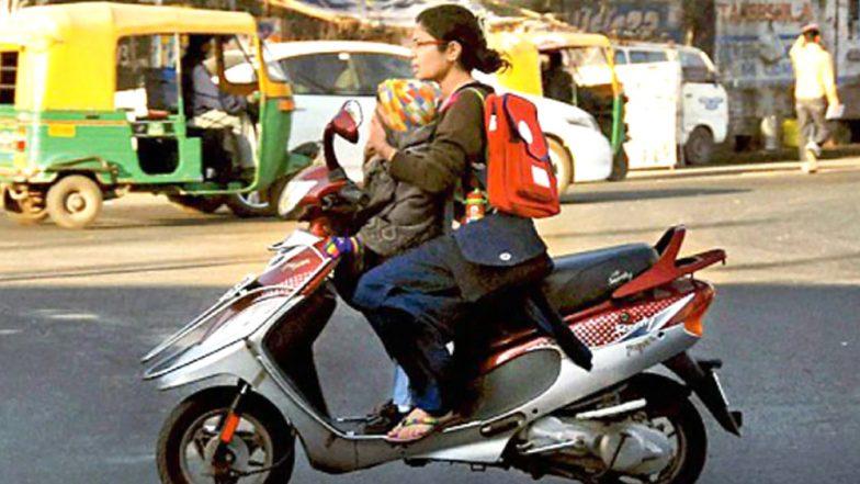 Helmets No Longer Mandatory for Sikh Women Riding Two- Wheeler in Chandigarh, Rules Centre