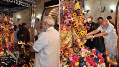 Durga Ashtami 2018: PM Narendra Modi Extends Greetings, Says 'May Maa Durga Eliminate All Evil'