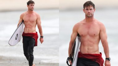 Chris Hemsworth's Shirtless Surfing Pics Are Going Viral For The Right Reason - Check Them Out!