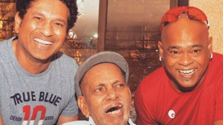 Sachin Tendulkar Shares Pic With Friend Vinod Kambli, Takes Blessings From Childhood Coach Ramakant Achrekar