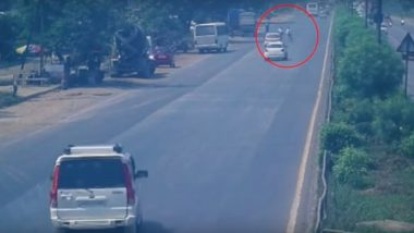 Thane Traffic Constable Knocked Down by Speeding Car to