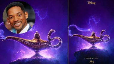 Aladdin Movie Official Poster OUT: Will Smith 'Can't Wait' for Everyone to See Him As Genie in Disney's Live-Action Film