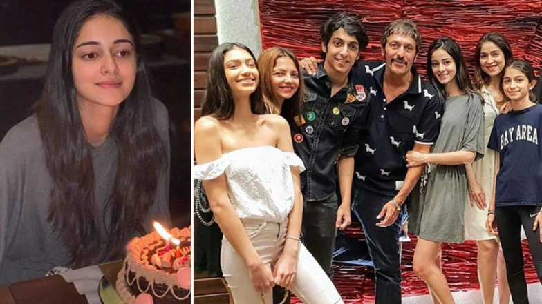 Ananya Panday's Birthday Celebration Was All About Fam-Jam! - See Pics Inside