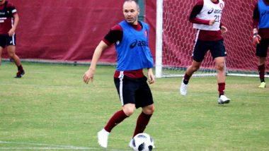 Andres Iniesta Hopes to Play Against His Former Club FC Barcelona in Japan Next Summer