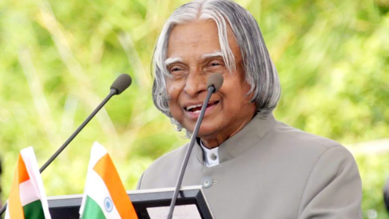 APJ Abdul Kalam Birth Anniversary 2018: Twitter Fondly Remembers and Pays Tribute To The Missile Man of India