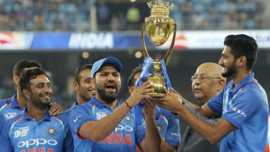 'MS Dhoni Asked Rohit Sharma to Hand Me The Asia Cup 2018 Winner's Trophy', Reveals Khaleel Ahmed