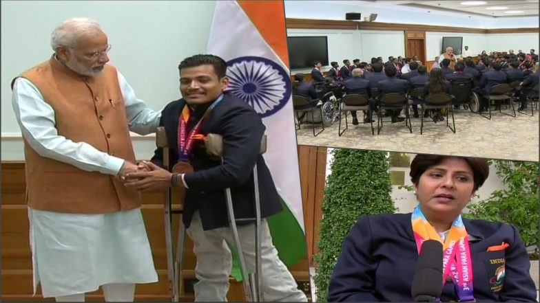 Asian Para Games 2018 Medal Winners Felicitated By PM Narendra Modi (See Pictures)
