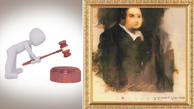 AI Painting 'Portrait of Edmond Belamy' To be Auctioned at Christie's Gavel in New York