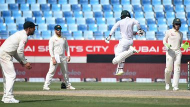 Pakistan vs Australia 2nd Test 2018 Day 3, LIVE Cricket Streaming on Hotstar and PTV Sports: Get Live Cricket Score, Watch Free Telecast of PAK vs AUS Match on TV & Online