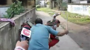 BJP Supporter Thrashed by TMC Leaders in West Bengal, Video Goes Viral on Social Media