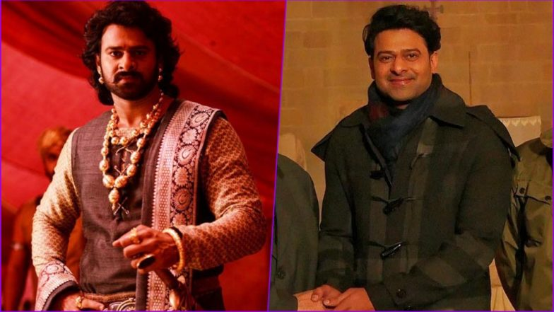 After Baahubali and Baahubali 2 Prabhas Dons a Clean Shaven New Look! Do You Miss The Bearded Warrior of Mahishmati?