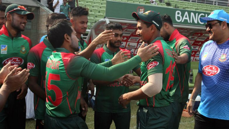 Live Cricket Streaming of Bangladesh vs Ireland Tri-Series 2019: Check Live Cricket Score, Watch Free Telecast of BAN vs IRE 6th ODI on Gazi TV Online