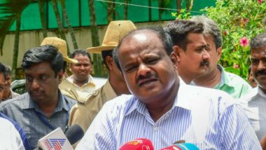 Karnataka CM Kumaraswamy's Car Searched by Flying Squad of ECI Ahead of Lok Sabha Elections 2019, No Cash Recovered