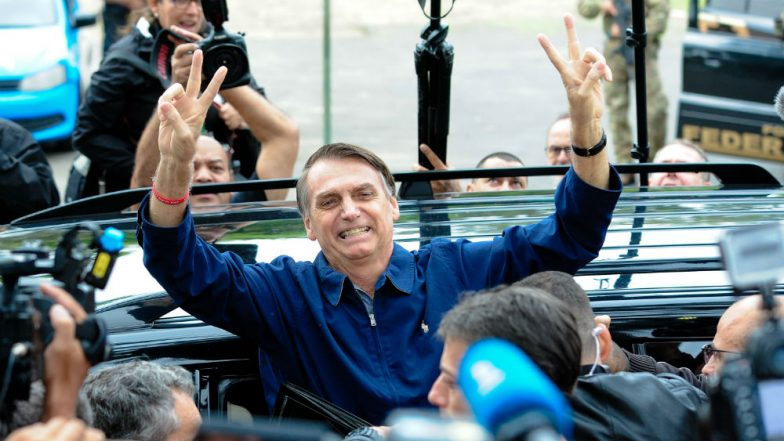 Brazil Elections 2018: Far-Right Congressman Jair Bolsonaro Wins First Round of Presidential Polls