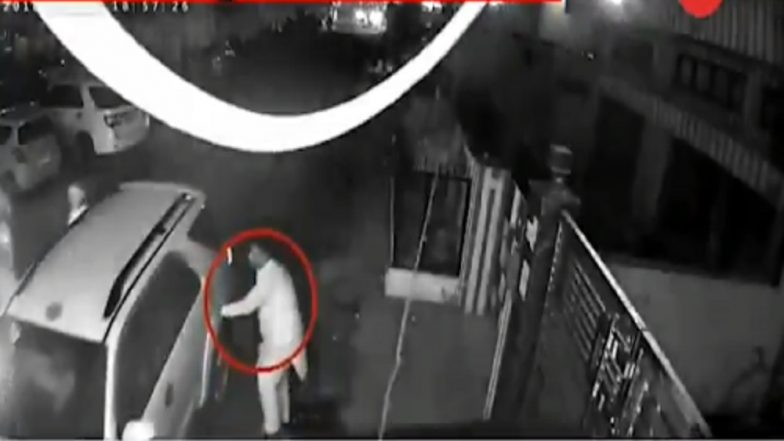 Shortly After Amritsar Train Tragedy, Dussehra Event Organiser Fled His Residence, Shows CCTV Footage
