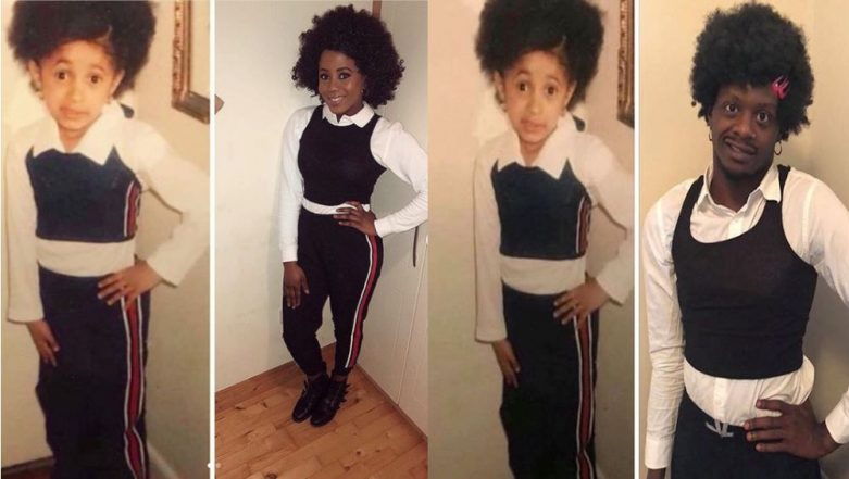 Young Cardi B Costume Inspires The Internet on Halloween and