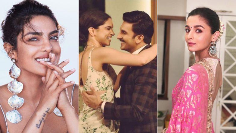 Deepika Padukone - Ranveer Singh Wedding Announcement: Priyanka Chopra, Karan Johar, Alia Bhatt And Other Celebs Congratulate Them!