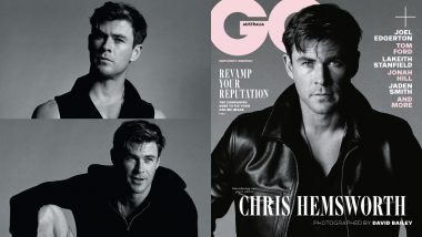 Chris Hemsworth Is Burning Up By The Sun In A Smouldering Leather Jacket On The Latest GQ Australia Cover - View Inside Pics