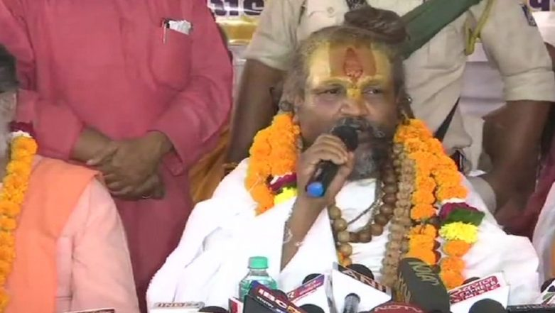 Computer Baba Demands Helicopter For Conducting Aerial Survey Hours After Assuming Charge as Chairman of Narmada River Trust