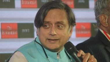 Shashi Tharoor on J&K Issue Says 'India Can't Talk to Pakistan If They Have Guns in One Hand And Bombs in the Other'