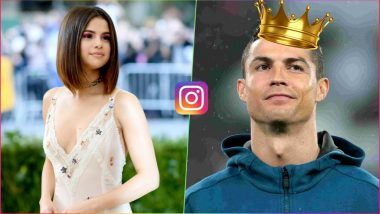 Cristiano Ronaldo Overtakes Selena Gomez As Instagram's Most Followed Person: Check Top-10 List of Most-Followed Instagram Accounts
