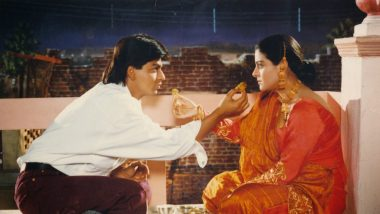 Karwa Chauth Bollywood Scenes: Dilwale Dulhania Le Jayenge, Baghban and Other Films That Portrayed the Festival Beautifully