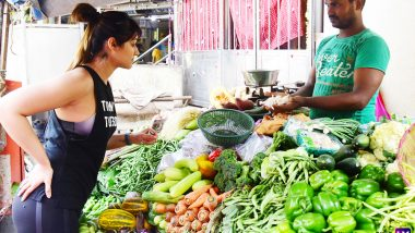 Ileana D'Cruz Buying Vegetables Is the Most Relatable Thing That Bollywood Has Given Us This Month – View Pics