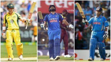 Rohit Sharma Surpasses Sachin Tendulkar, David Warner; List of Top 5 Batsmen With Most 150+ Scores in ODI History