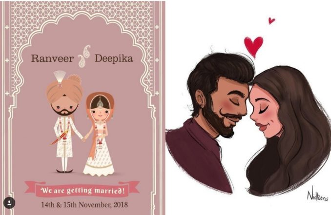 These Fan-Made Artworks on Deepika Padukone and Ranveer Singh's Marriage Cannot Be Missed – See Pics