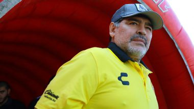 Diego Maradona Resigns as Head Coach of Gimnasia La Plata