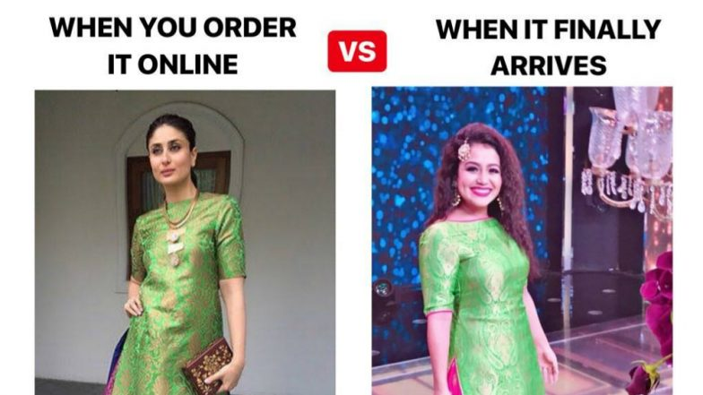 Indian Idol 10 Judge Neha Kakkar Would Cry Buckets If She Saw Diet Sabya's Latest Meme Featuring Kareena Kapoor Khan! (See Pic)