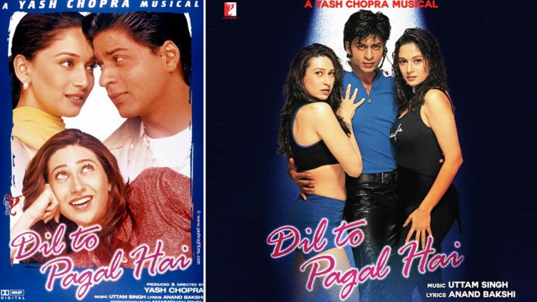 Shah Rukh Khan, Karisma Kapoor and Madhuri Dixit's Dil Toh Pagal Hai Clocks 21 Years and We Can't Help but Wonder How Time Flies!