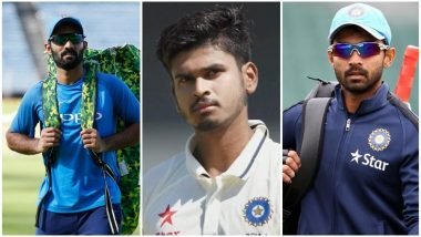 Dinesh Karthik, Shreyas Iyer, Ajinkya Rahane Appointed Captains of India A, B, and C Teams for Deodhar Trophy 2018; Yuvraj Singh, Gautam Gambhir Ignored by BCCI