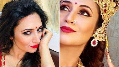 Divyanka Tripathi As Goddess Durga This Navratri for Star Parivaar Awards 2018 Is Magnificent, See Beautiful Pic of YHM Actress