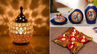 Diwali 2018 Shopping Offers on Home Decor: Buy Curtain, Decorative Lamps and Diyas Online for the Festive Season