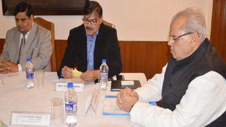 Jammu And Kashmir Local Bodies And Panchayat Polls 2018: Governor Satya Pal Malik Reviews Security Arrangements