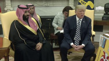 U.S. President Donald Trump: Saudi Crown Prince MBS Denies Involvement in Jamal Khashoggi's Disappearance