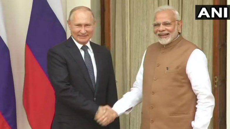 Narendra Modi, Vladimir Putin Hold Restricted Meeting Ahead of Annual Bilateral Summit